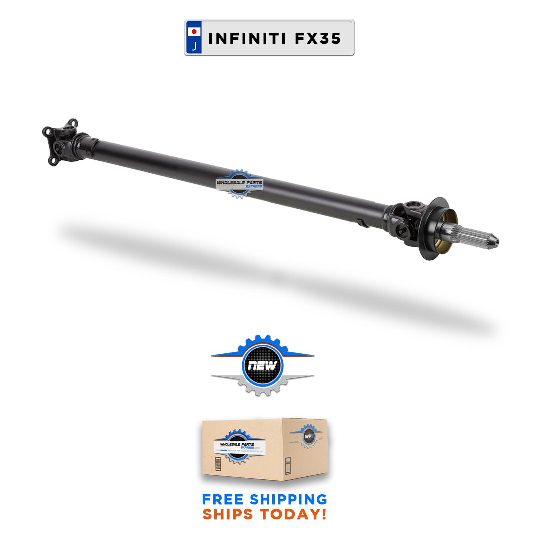 2003 2008 infinity fx35 front drive shaft propeller awd wholesale parts express