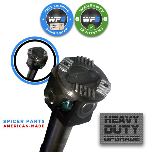 new front drive shaft driveline heavy duty upgrade dodge ram automatic 03 04 05 06 07 08 09 5.9 DIESEL 2500 3500 52105934AC 52105934AE auto end 1