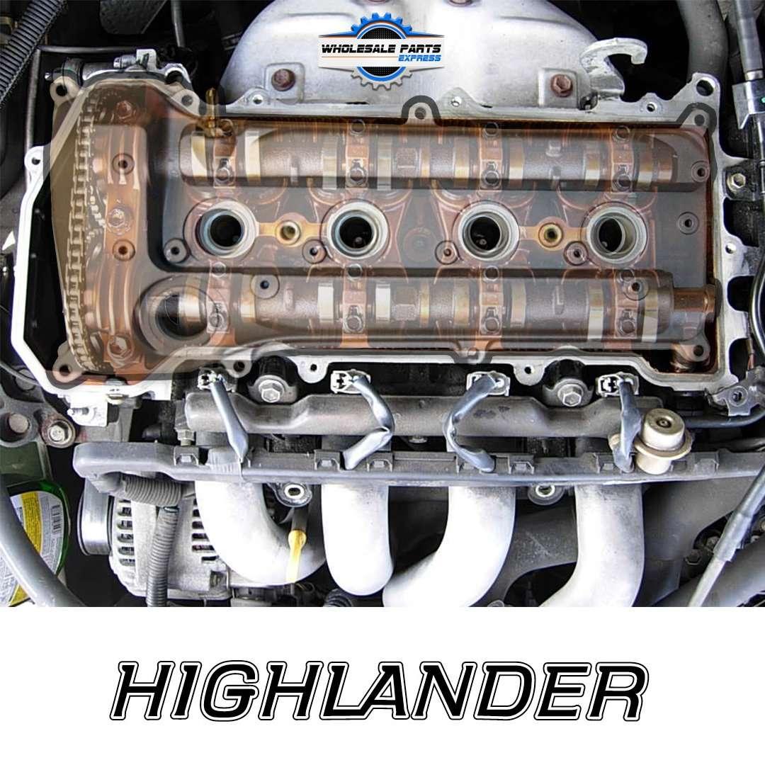 2002 Lincoln Continental Head Gasket: [Removing Cylinder Head 2002 Toyota Highlander]