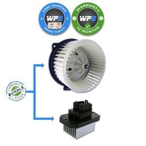 jaguar xk xkr f-type 07 08 09 10 11 12 13 14 15 ac fan blower motor and resistor combo Part Numbers C2P8256 C2P8257 c2z6538)