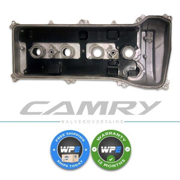 toyota camry hybrid base ce le se xle rav4 matrix highlander scion xb tc2.4 4 cylinder valve cover rocker cover engine cover cylinder head 07 08 09 10 11 12 2azfe 4cyl bottom