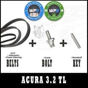Honda Acura 3.2 TL Harmonic Balencer Replacement kit