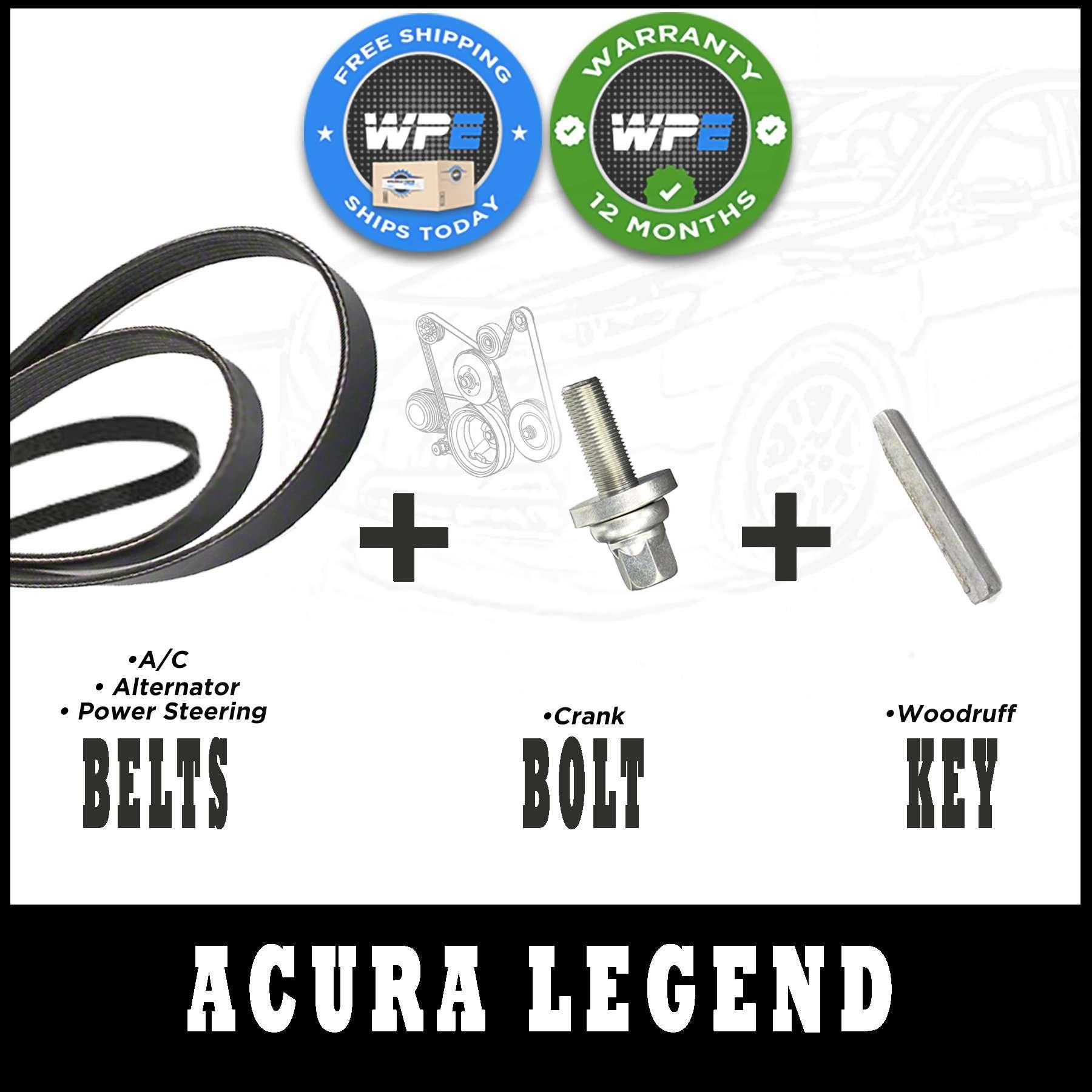 Acura Legend Balancer Replacement Kit 1991