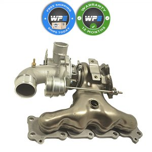 Land Rover Range Rover Evoque Turbocharger with Exhaust Manifold Borg Warner 2012-2015 LR074185